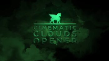 Cinematic Sky Logo Animation