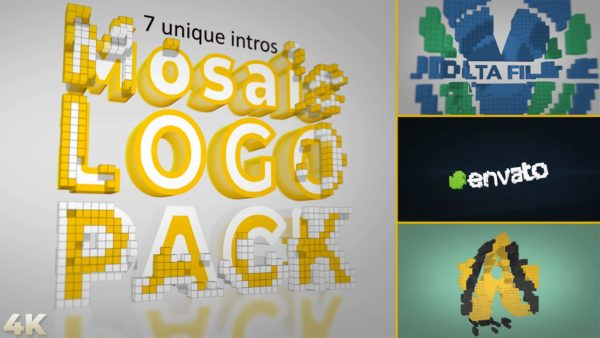 Mosaic Logo animation