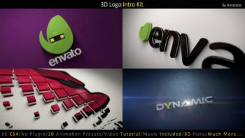 The Ultimate 3D Logo Intro Template