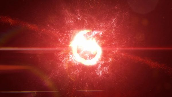 Particles Explosion Intro