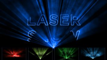 Laser Show Video Invitation