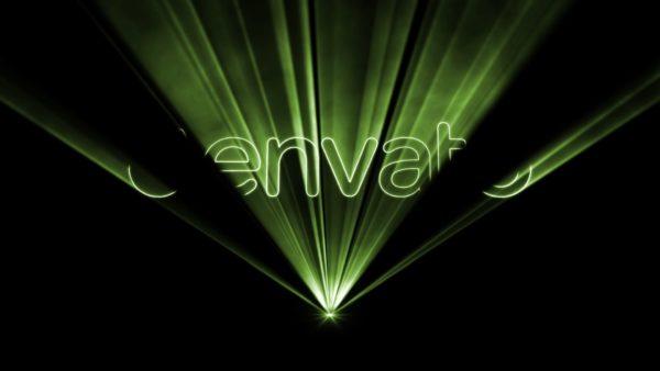 Laser Show Video Invitation